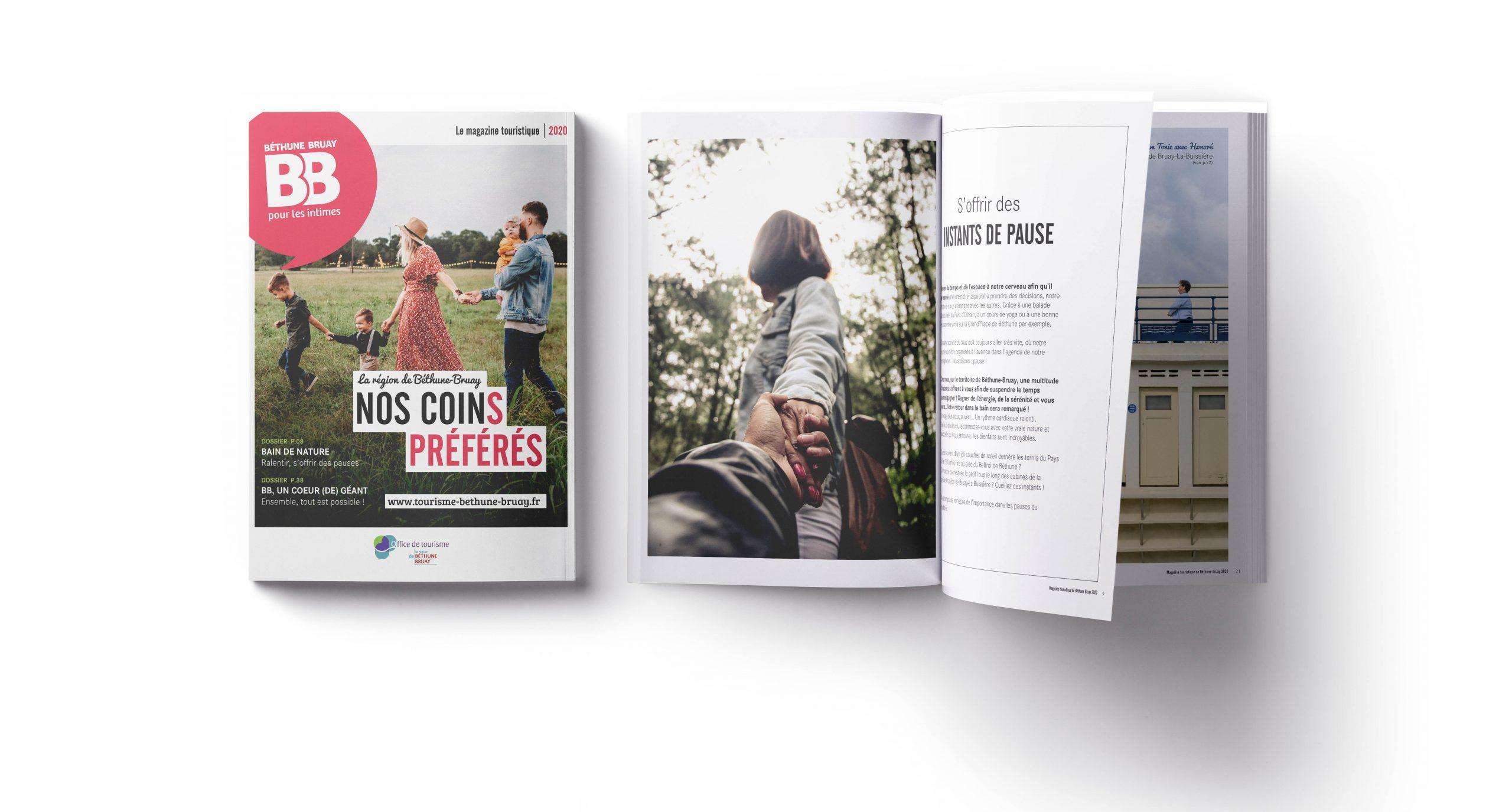 Magazine Béthune Bruay Tourisme 2020 - Agence GUS