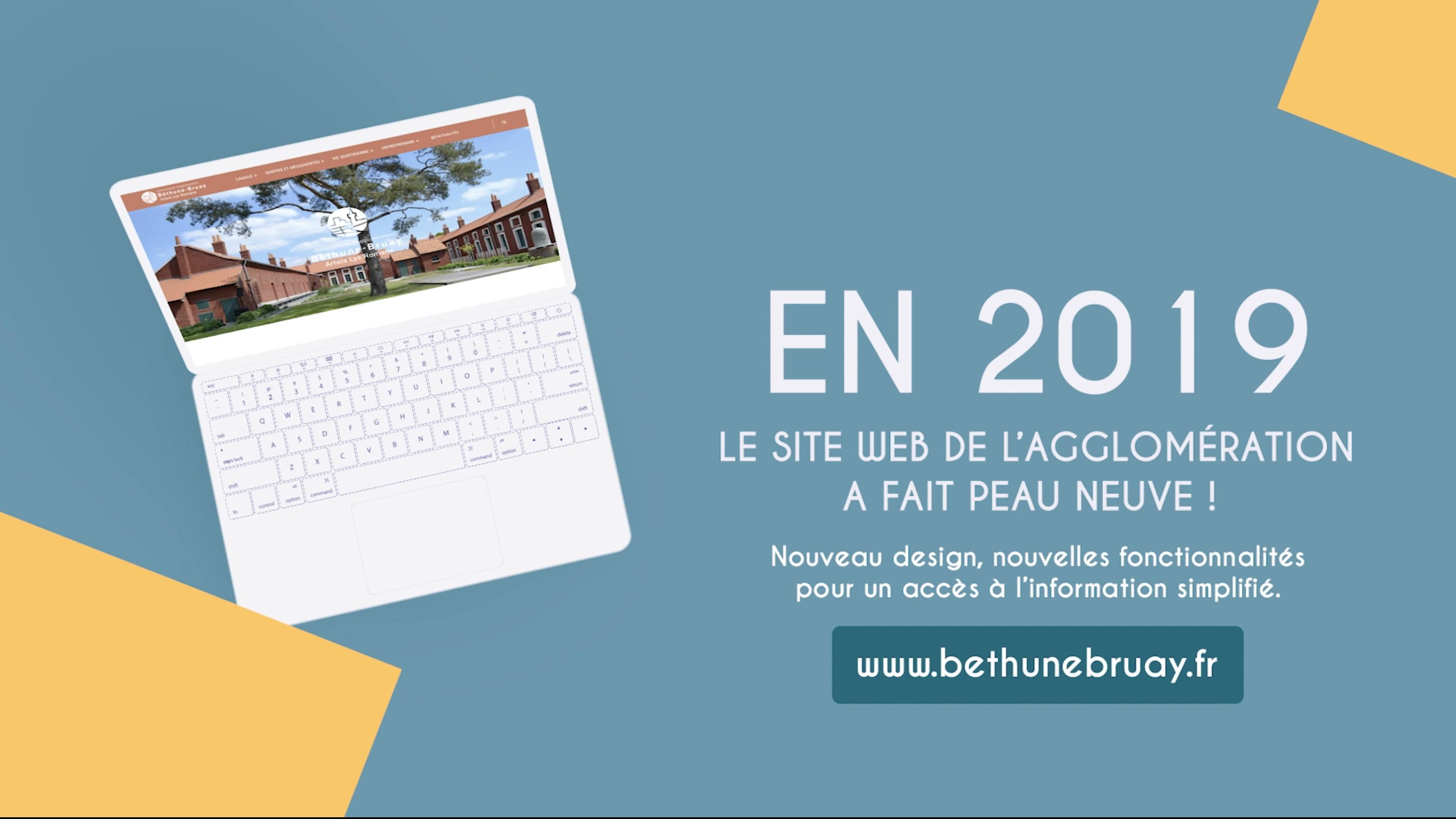 Retrospective 2019 - Communauté d'Agglomération de Béthune-Bruay, Artois Lys Romane - Agence GUS